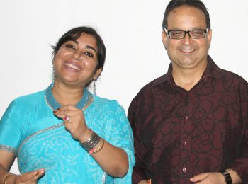 Artist-&-Singer-Dr-Soma-Ghosh-and-Dr-Mukul-Dabholkar-in-2010
